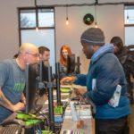 NETA Brookline Marijuana Dispensary counter
