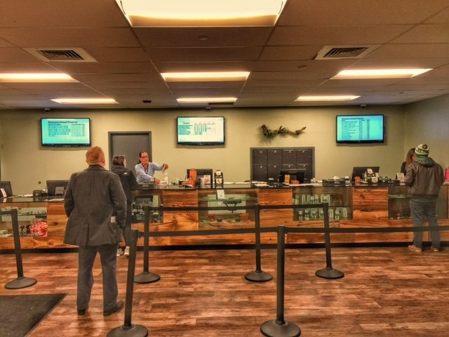 Counter at Ermont Quincy Dispensary