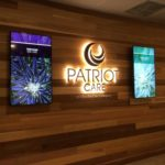 Modern Signage at Patriot Care Lowell Dispensary - Credit: New Cannabis Ventures