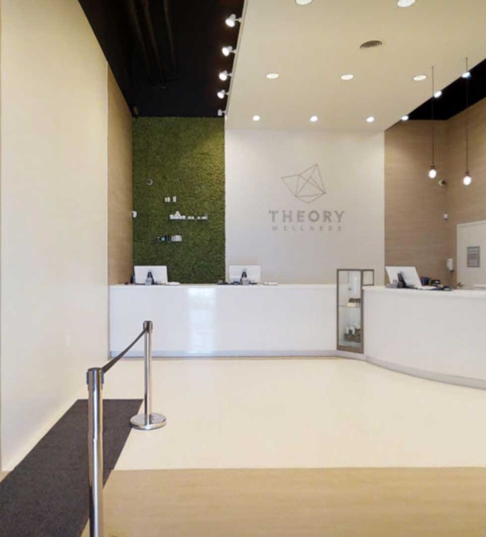 Interior of Wellness Great Barrington Dispensary - Credit: Theory Wellness