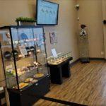 Displays at Alternative Therapies Salisbury Dispensary - Credit; William Pentland