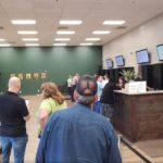 Sales Counters at Alternative Therapies Salisbury Dispensary - Credit; William Pentland