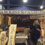 Booth for Caroline's Cannabis Uxbridge Dispensary - Credit: Caroline's Cannabis