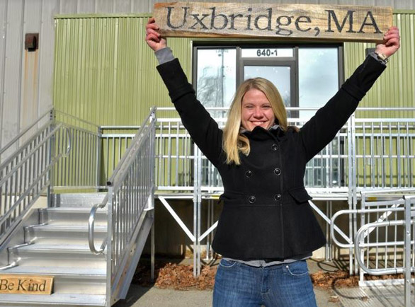 Caroline of Caroline's Cannabis Uxbridge Dispensary - Credit: Christine Peterson (Worcester Telegram)