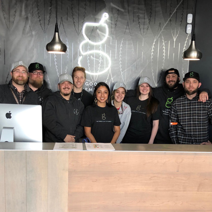 Team at Good Chemistry Worcester Marijuana Dispensary - Credit: Good Chemistry