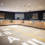 Aviation Inspired Design at Airfield Supply San Jose Dispensary - Credit: Airfield Supply