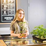 Budtender Explains Seed to Table at Airfield Supply San Jose Dispensary - Credit: Airfield Supply