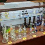 Glass Bongs, Dab Rigs and Pipes at Arizona Organix's Glendale dispensary - Credit: Trevor Berrington
