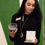 Budtender Showcasing Product at Arizona Organix's Glendale dispensary - Credit: AZ Organix