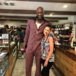 Lamar Odom at Golden State Greens San Diego Dispensary - Credit: Golden State Greens