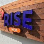 Sign at Rise York Dispensary - Credit: Rise Blog