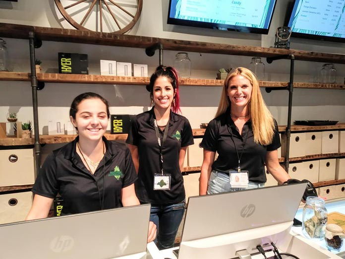 Staff at Northeast Alternatives Fall River Dispensary - Credit: Fall River Development News