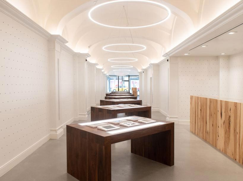 Interior of MedMen's 5th Avenue Manhattan dispensary - Credit: MedMen