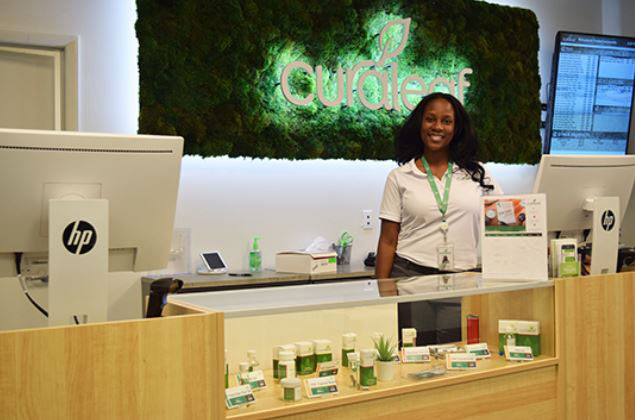 Retail Counter at Curaleaf Orange Dispensary - Credit: Jacksonville Free Press