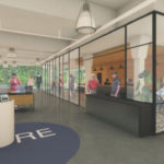 Sales Floor of Core Empowerment of Jamaica Plain's Boston Dispensary - Credit: Atelier er Alia