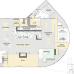 Layout of Core Empowerment of Jamaica Plain's Boston Dispensary - Credit: Atelier er Alia