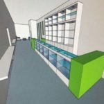 Artist Rendering of the Sales Counter at Mojos of Mattapan's Boston Dispensary - Credit: Mojos