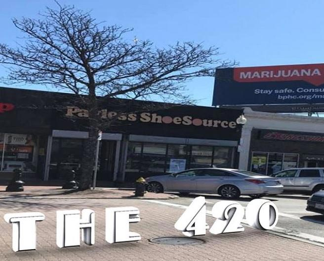 Proposed Site of The 420 of Dorchester's Boston Dispensary - Credit: The 420