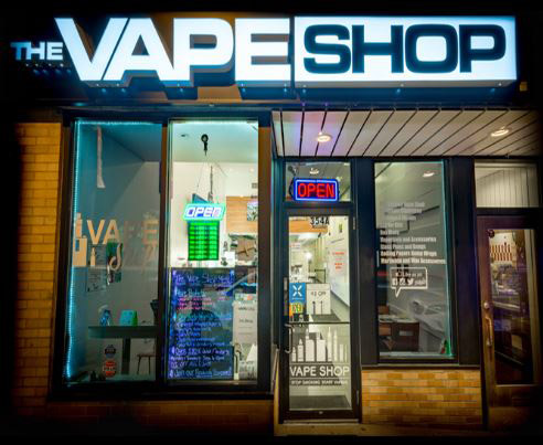 Exterior of The Vape Shop of Brighton's Boston Dispensary - Credit: The Vape Shop