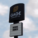 Signage at Gage Cannabis' Ayer Dispensary - Credit: Gage