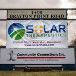 Sign at Solar Therapeutics Somerset Dispensary - Credit: Solar Therapeutics