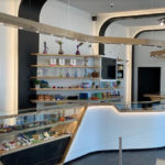 Retail Counter at INSA Salem Dispensary - Credit: INSA