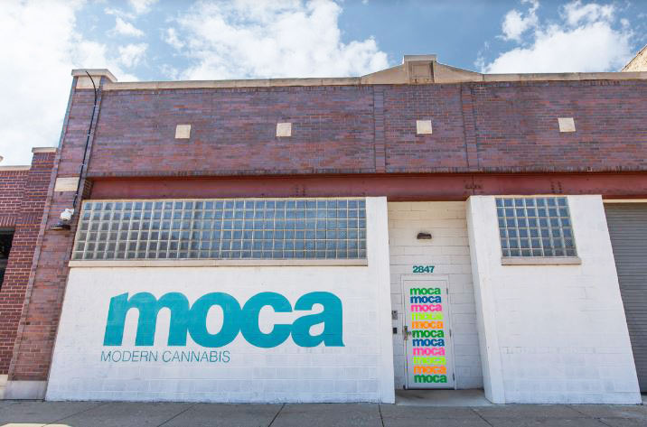 Exterior of MOCA Chicago Logan Square Dispensary - Credit: MOCA