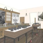 Artist Rendition of Product Displays and Sales Counter at Western Front's Cambridge Dispensary - Credit: Western Front