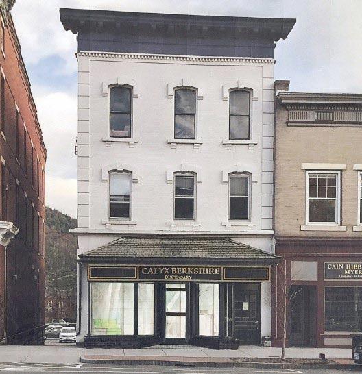 Exterior Store Design of Calyx's Berkshire Dispensary - Credit: Heather Bellow (Berkshire Eagle)