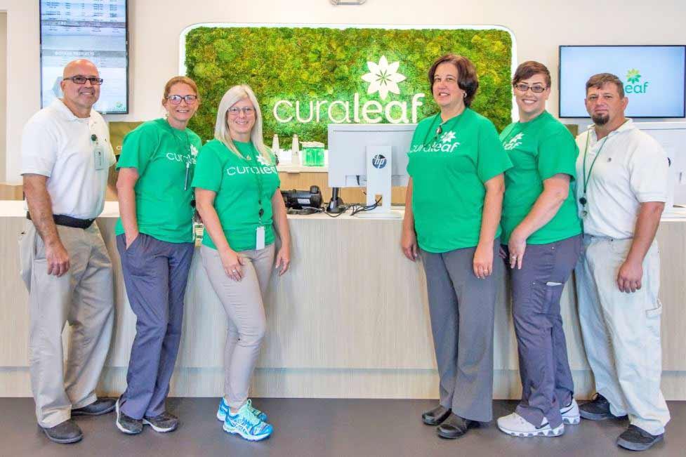 Staff at Curaleaf's Fort Myers DIspensary - Credit: Curaleaf