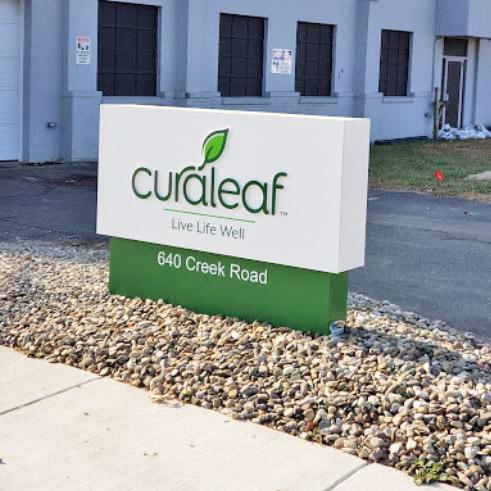 Sign at Curaleaf's Bellmawr Dispensary - Credit: Bob Weaver (Google User)
