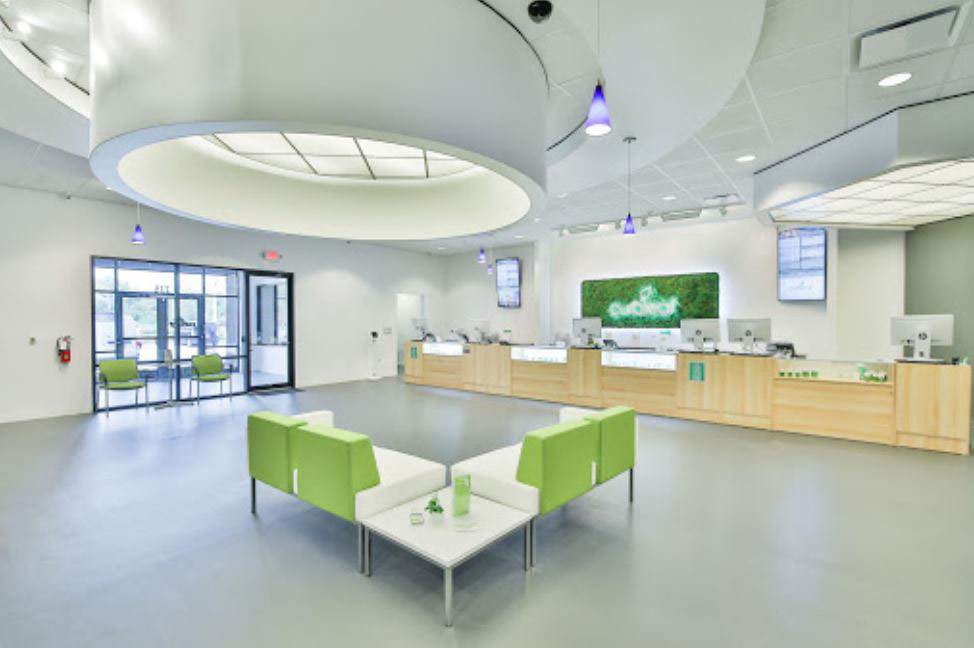 Interior of Curaleaf's East Orlando Dispensary - Credit: Curaleaf