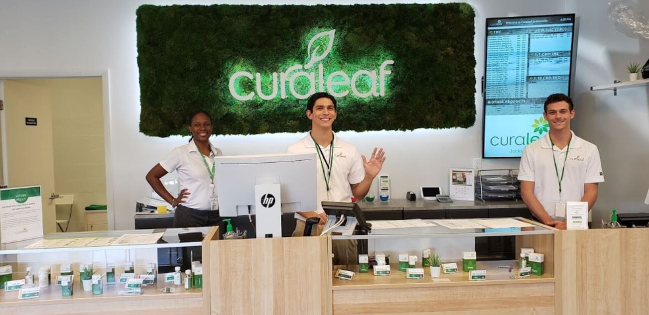 Counter Staff at Curaleaf's Jacksonville Dispensary - Credit: Sarah Rain (Google User)