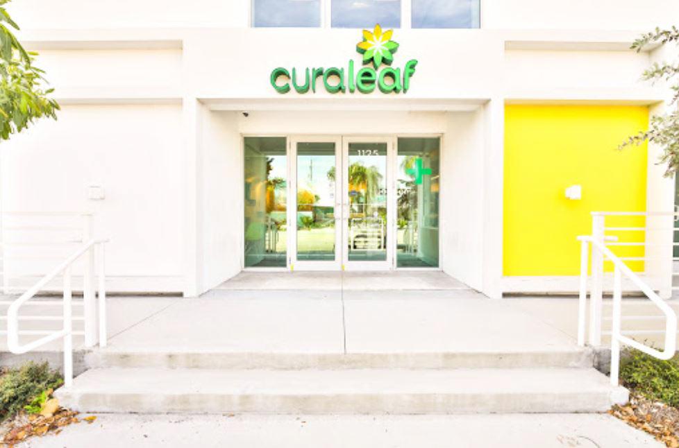 Front Entrance at Curaleaf's Lake Worth Dispensary - Credit: Curaleaf