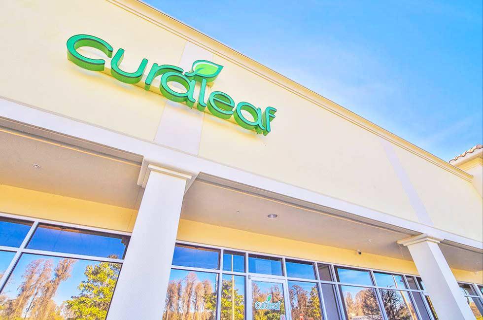 Exterior Sign at Curaleaf's Lutz Dispensary - Credit: Curaleaf