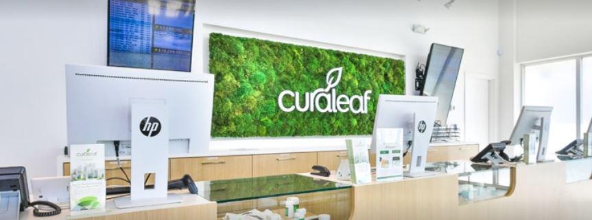 Sales Counter at Curaleaf's North Miami Dispensary - Credit: Curaleaf