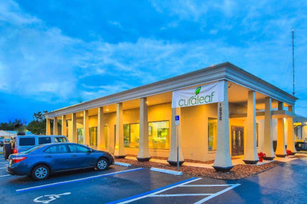 Exterior of Curaleaf's Ocala Dispensary - Credit: Curaleaf