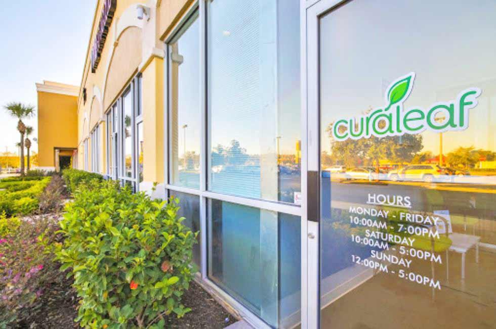 Exterior of Curaleaf's South Orlando Dispensary - Credit: Curaleaf