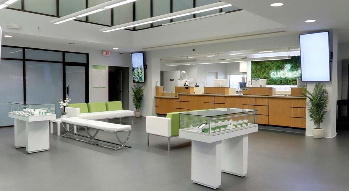 Sales Floor at Curaleaf's Palm Harbor Dispensary - Credit Alexander Mandiola (Google User)