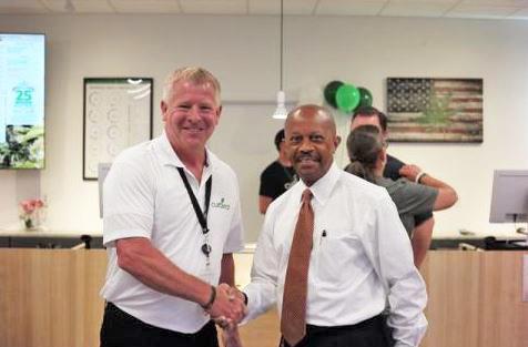 Leadership at Curaleaf's Sanford Dispensary - Credit: Sanford Herald