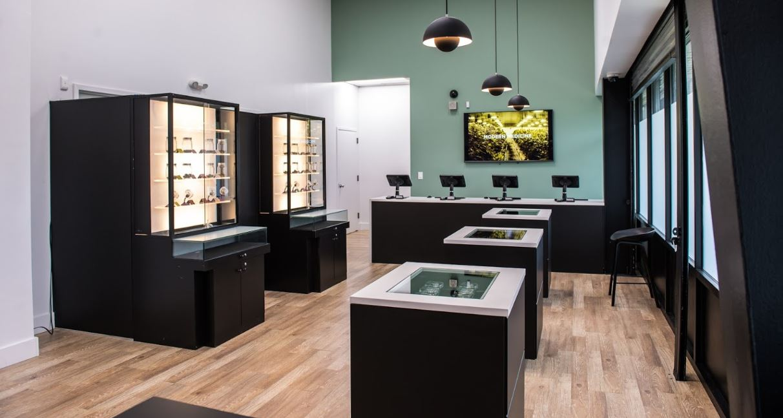 Sales Floor at Harmony's Secaucus Dispensary - Credit: Harmony Dispensary