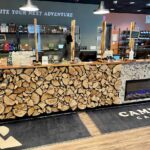 Sales Counter at Campfire Cannabis' West Boylston Dispensary - Credit: Dispensary Genie