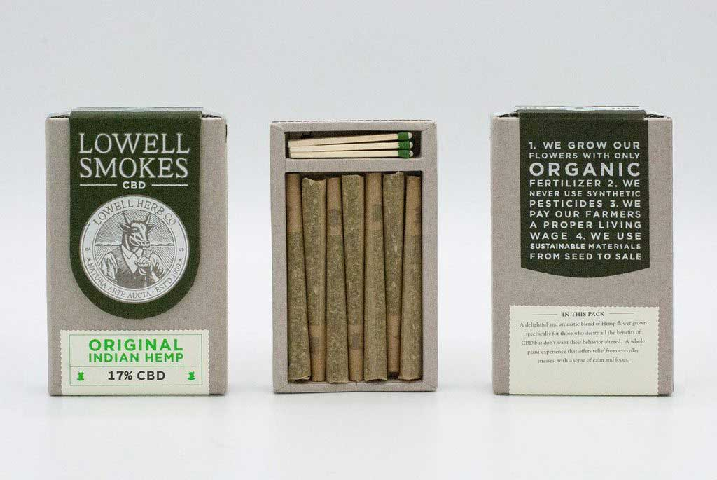 Lowell Smokes - Credit BNB Tobacco