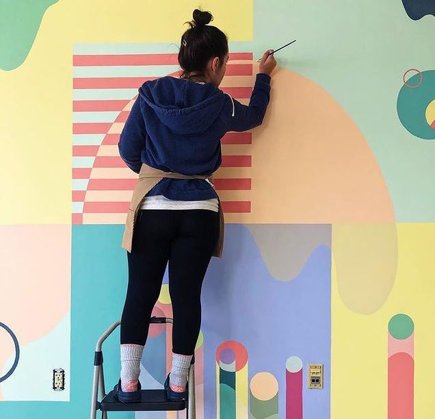 Custom Mural by thecollab at the Framingham Manufacturing Space - Credit: Cloud Creamery